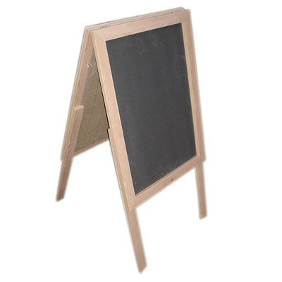 upcycled chalk board