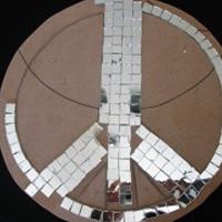 Mosaic Peace Sign Mosaic Me Baby Crafty Corner