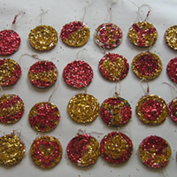 home made christmas tree decorations