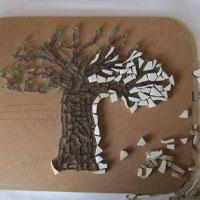 Mosaic Baobab Tree Placemat Mosaic Crafts Crafty Corner