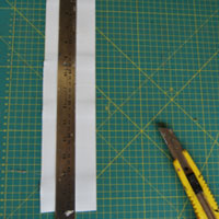 Craft Metal Straight Edge Cutting Guide