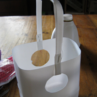 Milk Bottle Easter Basket Plastic Recycling Crafty